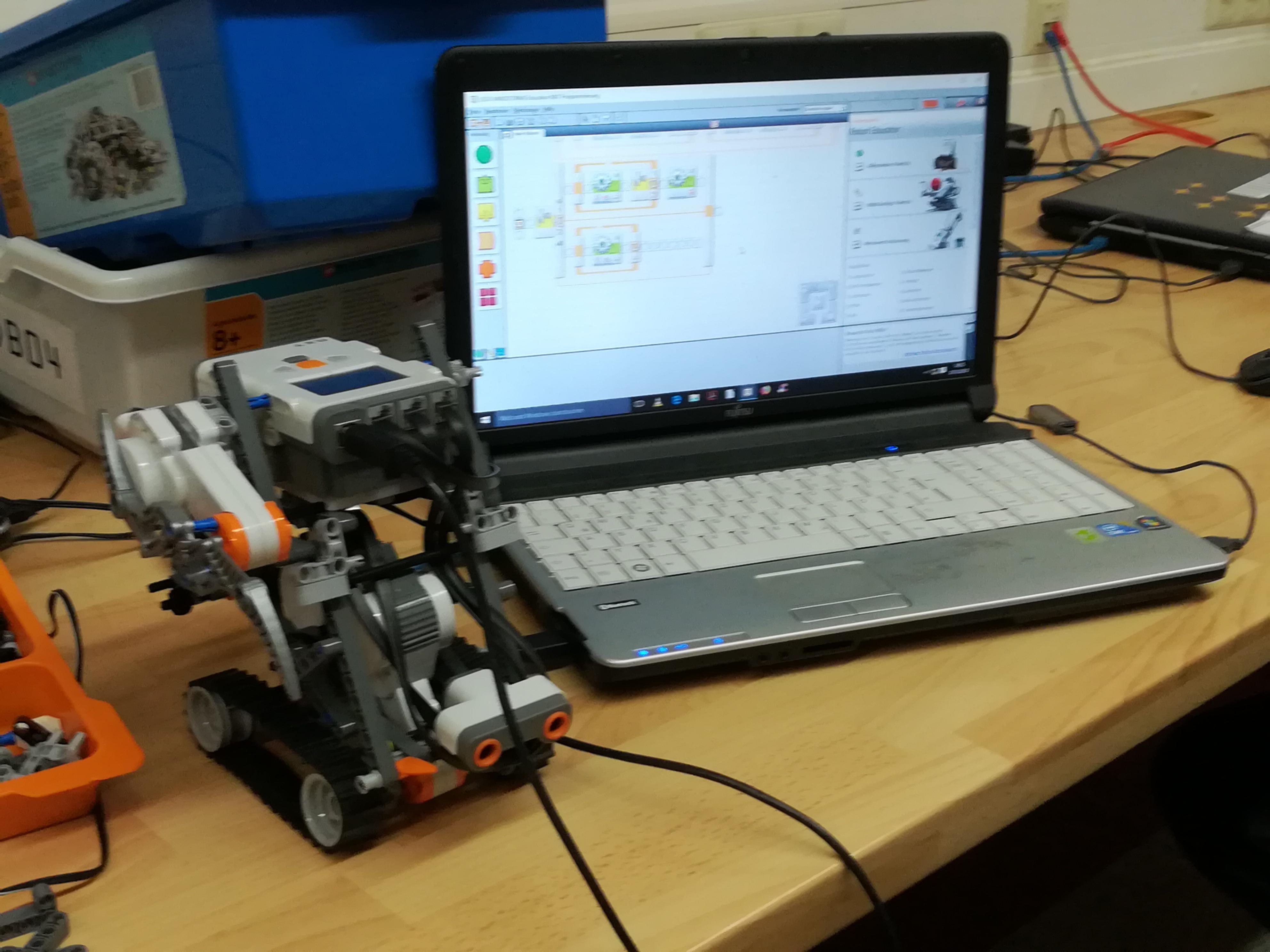 Die Robotics-AG – Vorstellung